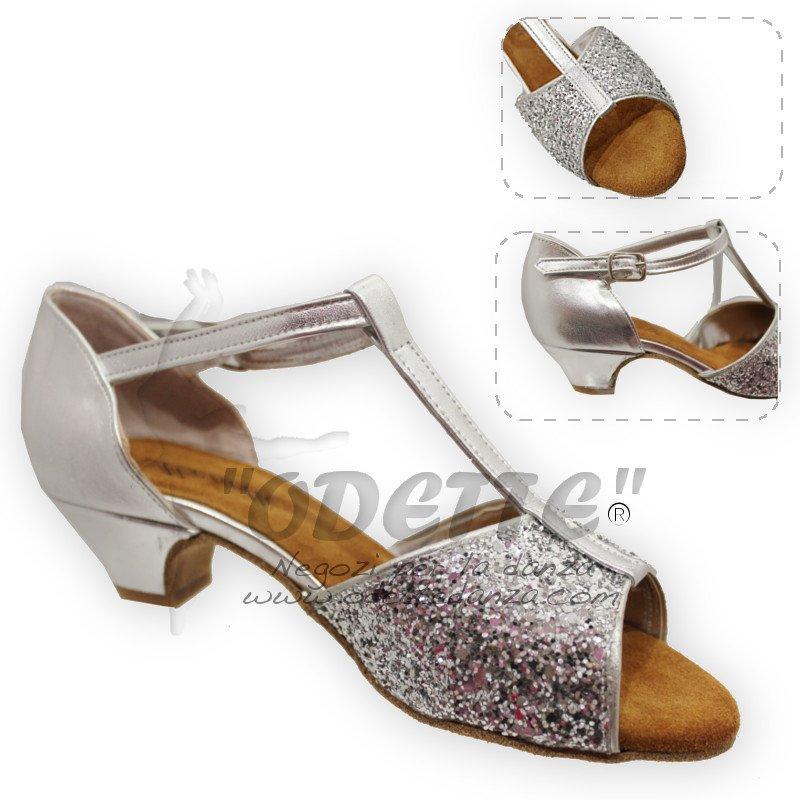 ... da Ballo Donna e Bambina · Monetti - Sandalo BIMBA Argento 2406fdc6cd5