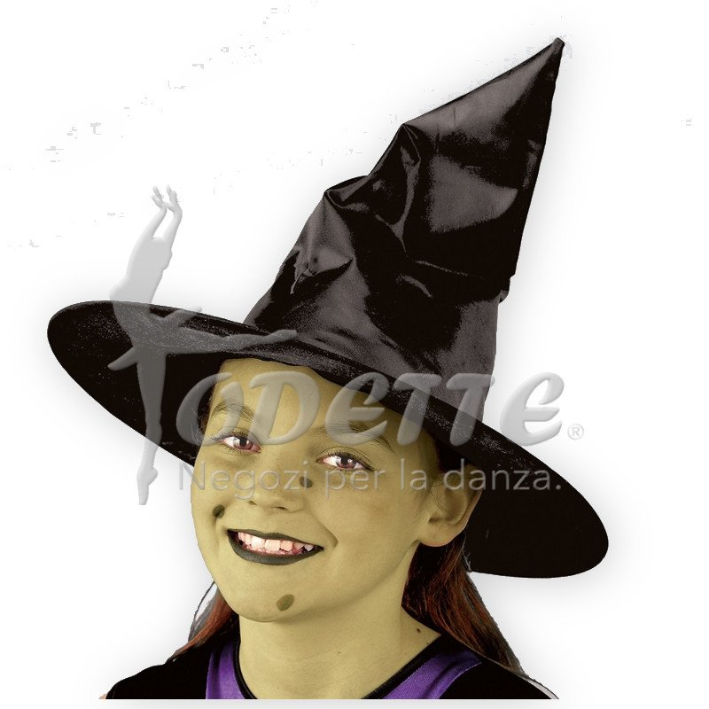 Black Childs Witches Hat